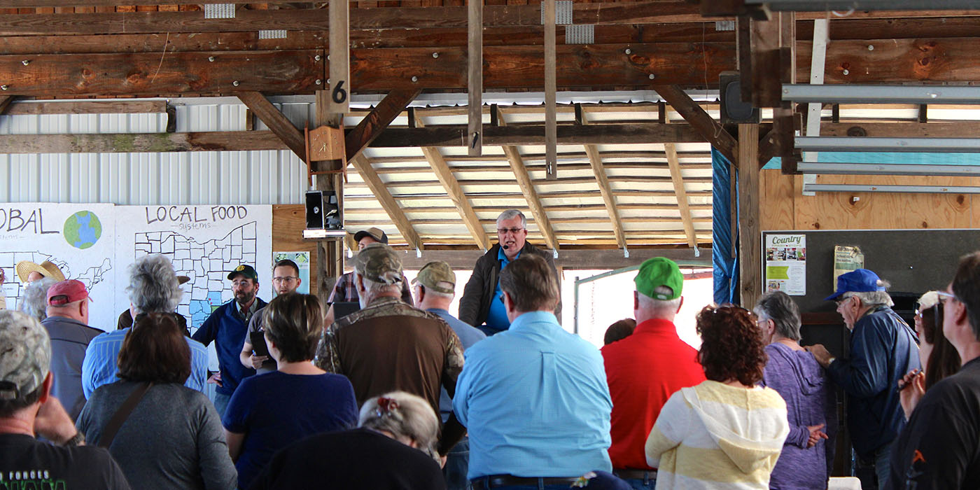 Chesterhill Produce Auction Market Reports Header Image.